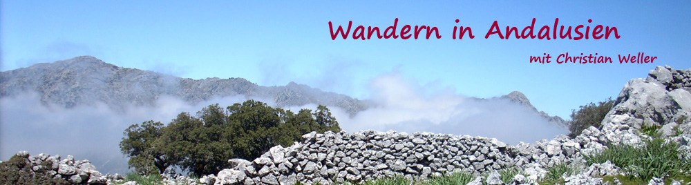 Wandern in Andalusien mit Christian Weller
